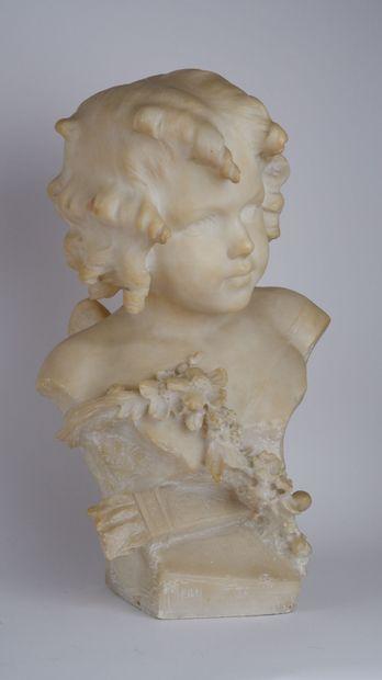 Edouard-Pierre BLIN (1877-1946)  Buste de...