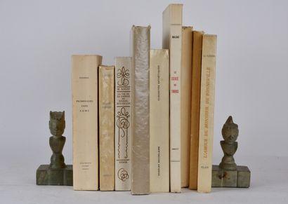 Lot de livres brochés comprenant:  ROUFF...