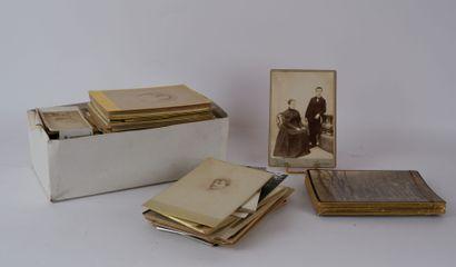 PHOTOGRAPHIES fin XIXème - début du XXème...