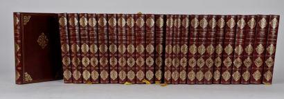 Suite de 24 livres historiques in-8 reliure...