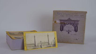 Vues stéréoscopiques du Paris Nouveau avant 1870. Vues animées, monuments et lieux...