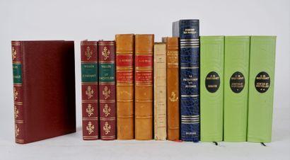 Lot de livres comprenant:  MAUPASSANT (de)...