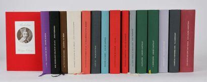 Réunion de 16 volumes de la collection