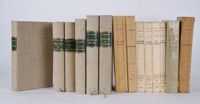 LENOTRE (G) suite de plusieurs ouvrages comprenant:...