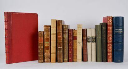 Lot de livres autour de la France et de Paris...