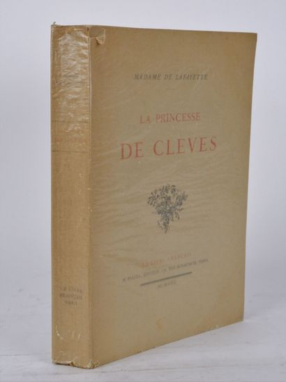 LA FAYETTE (Madame de). La princesse de Clèves....
