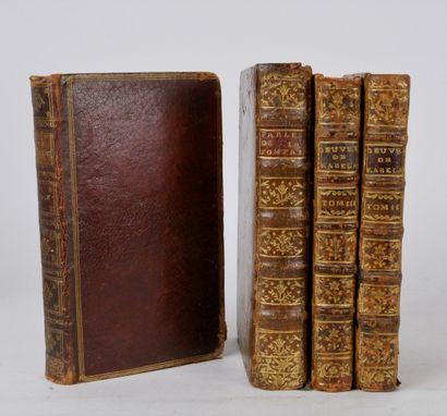 Lot de livres XVIII comprenant:  GORDON...