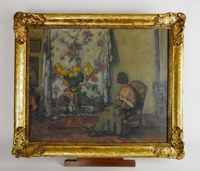 Jean-Laurent BUFFET-CHALLIÉ (1880-1943)  Jeune...
