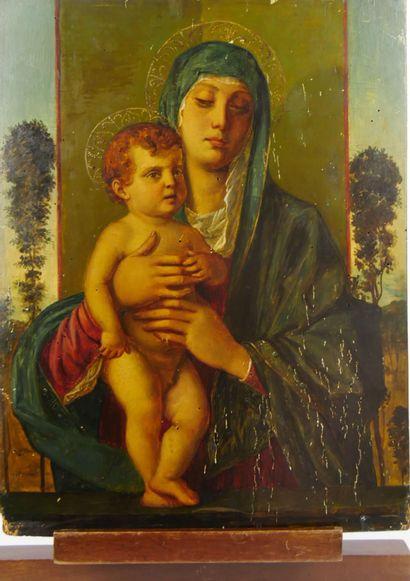 D'après Giovanni BELLINI (Vers 1430-1516)...