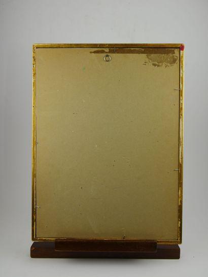Pierre CHAPUIS (1863-1942)  Forêt de Compiègne  Aquarelle sur papier signée «P...