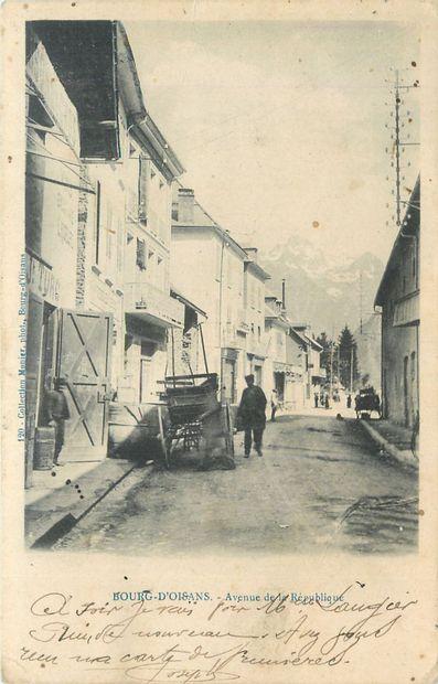 215 CARTES POSTALES ISERE : Villes, qqs villages,...