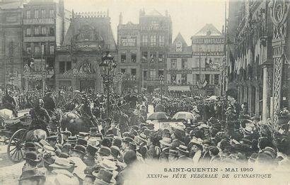 16 CARTES POSTALES SPORT : Sélection Aisne...