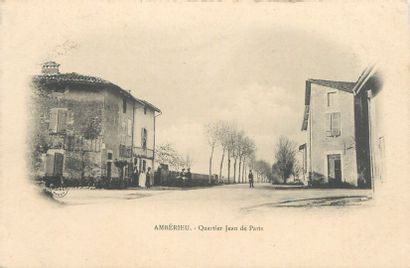 81 CARTES POSTALES AIN : Villes, qqs villages,...