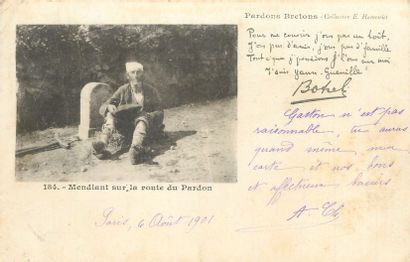 47 CARTES POSTALES SCENES & TYPES : Bretagne....