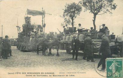 332 CARTES POSTALES GIRONDE : Villes (Arcachon-29cp...