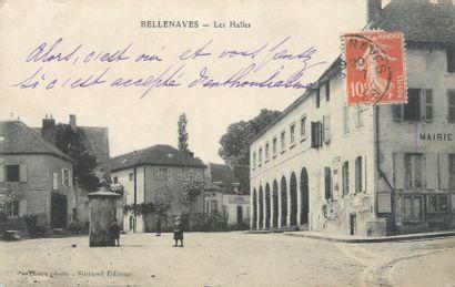 156 CARTES POSTALES ALLIER : Villes (Hors...
