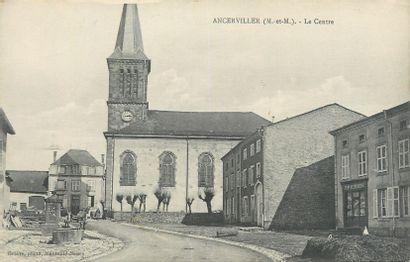207 CARTES POSTALES MEURTHE & MOSELLE : Villes,...