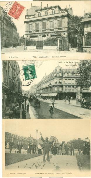 76 CARTES POSTALES PARIS: Divers Arrondissements....