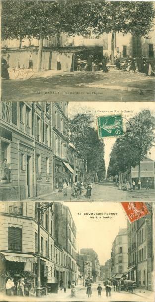 47 CARTES POSTALES HAUTS DE SEINE: Villes,...