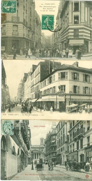 68 CARTES POSTALES PARIS: Divers Arrondissements...