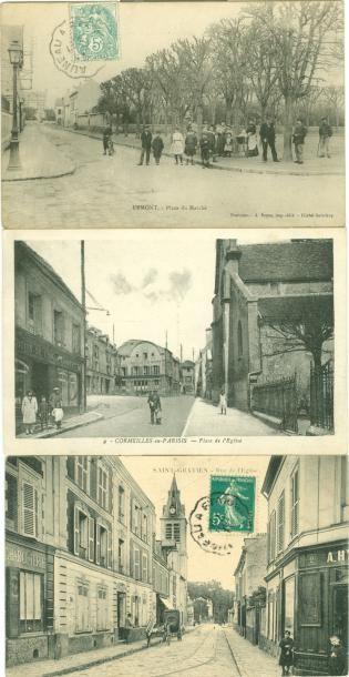 49 CARTES POSTALES VAL D'OISE: Villes, qqs...