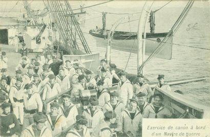 94 CARTES POSTALES BATEAUX: France, Etrangers,...
