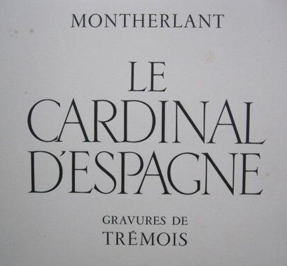 MONTHERLANT (H.de) - TREMOIS
