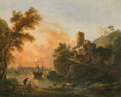 Jean-Baptiste LALLEMAND (1716-1803) (attribué à)