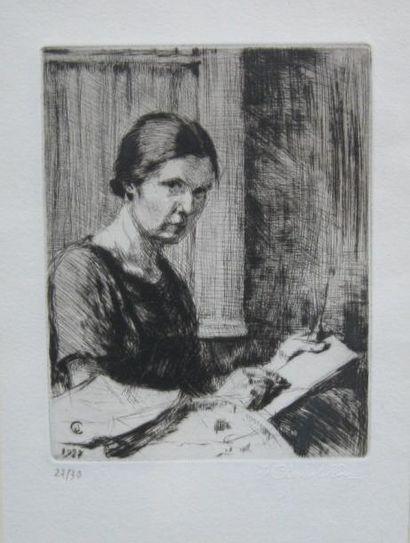 Jeanne CHAMPILLOU (1897-1978) (d'après)