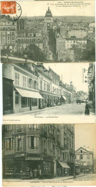 93 CARTES POSTALES PARIS & REGION PARISIENNE:...