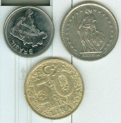 NUMISMATIQUE & DIVERS: Pièces de Monnaies,...