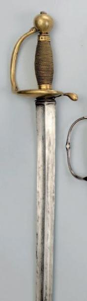 Forte-épée de cavalerie. Fusée entièrement...
