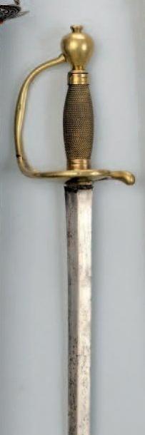 Épée de fusilier d'Infanterie. Fusée entièrement...