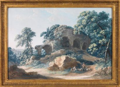 Louis-Albert-Ghislain BACLER D'ALBE (Saint-Pol 1761- Sèvres 1824)