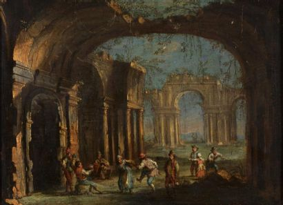 ÉCOLE ITALIENNE - Première moitié du XVIIIe siècle