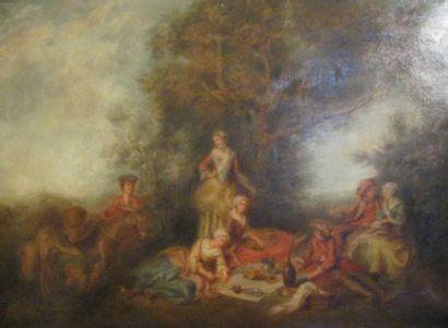 Nicolas Lancret (1690-1743) (d'après)