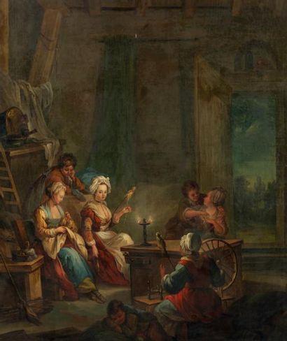 École FRANÇAISE - Seconde moitié du XVIIIe siècle