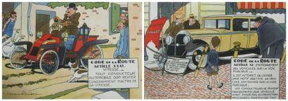 Paul REBOUX & Jean-Jacques ROUSSAU