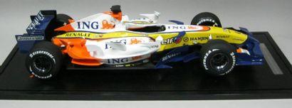 ING RENAULT Team R27 Année 2007. Maquette...