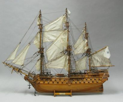 Maquette du vaisseau
