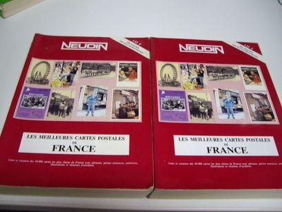 2 CATALOGUES NEUDIN : Les Meilleures Cartes...