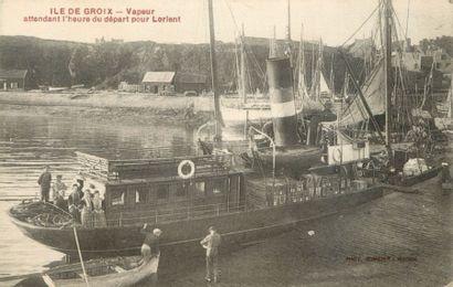 30 CARTES POSTALES NAVIGATION : Maritime...