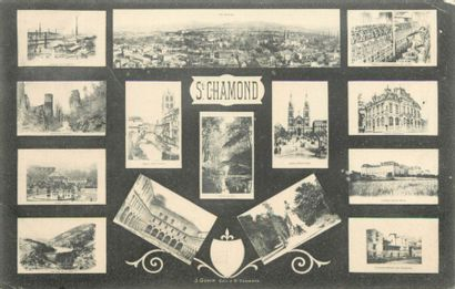 83 CARTES POSTALES FANTAISIES : Souvenirs...