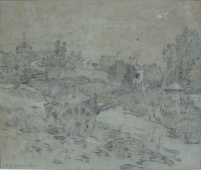 Jean-Charles CAZIN (1841-1901)