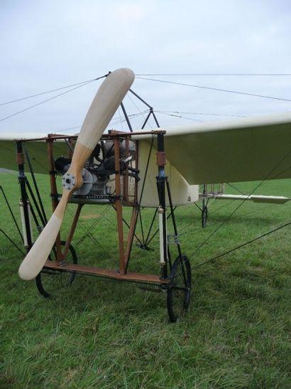 Aéroplane Louis Blériot Type XI, Traversée de la Manche, 1909. Reconstitution. Type...