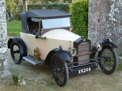 Cyclecar Blériot type Whippet biplace, 1920....