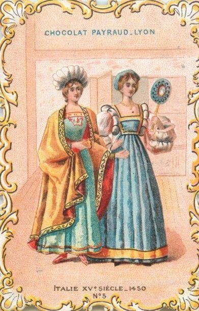 825 CHROMOS : Lyon : Alcool de Menthe Diverses & Ricqlès (154), Chocolat Payraud...