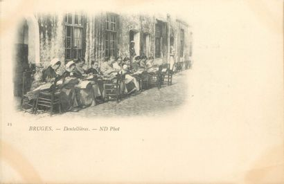 195 CARTES POSTALES ETRANGERS : La Belgique...
