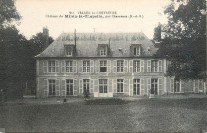 60 CARTES POSTALES YVELINES : Milon la Chapelle-18cp,...