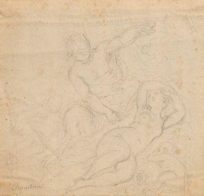 Claude - Joseph VERNET (1714 - 1789) (Attribué...